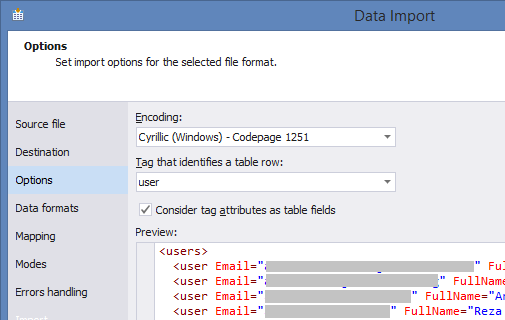 SQL SERVER - Easy Way to Import and Export SQL Server Data easytable-10