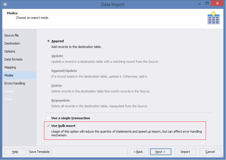 SQL SERVER - Easy Way to Import and Export SQL Server Data easytable-12
