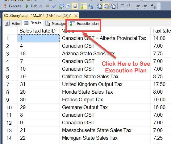 SQL SERVER - Save and Send Execution Plan Via Email exec3