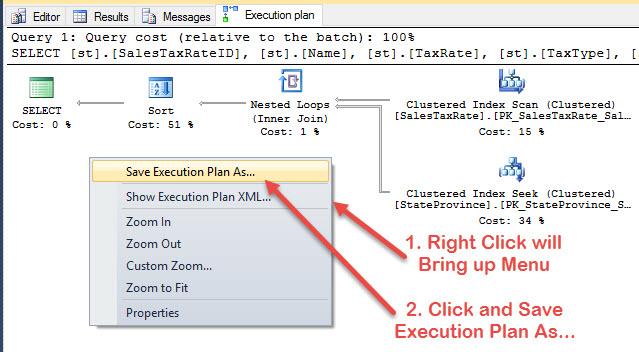 SQL SERVER - Save and Send Execution Plan Via Email exec4