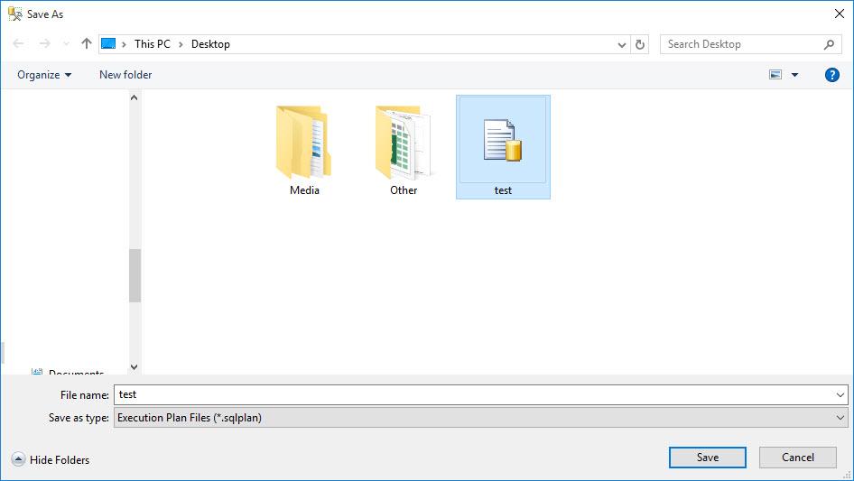 SQL SERVER - Save and Send Execution Plan Via Email exec5