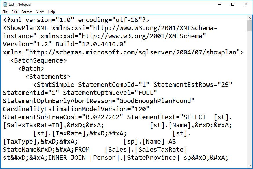 SQL SERVER - Save and Send Execution Plan Via Email exec7