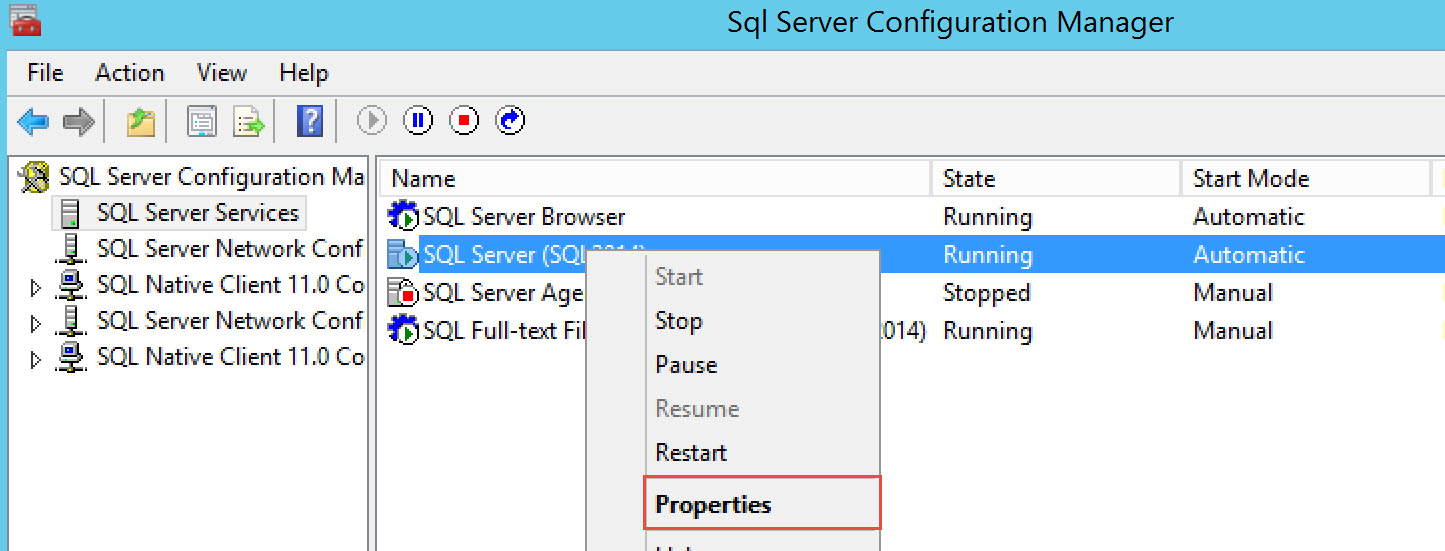sql server database mirroring login attempt failed connection