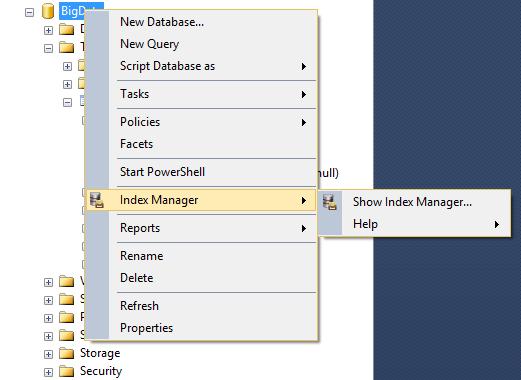 SQL SERVER - Fix SQL Server Index Fragmentation with dbForge Index Manager indexde-1