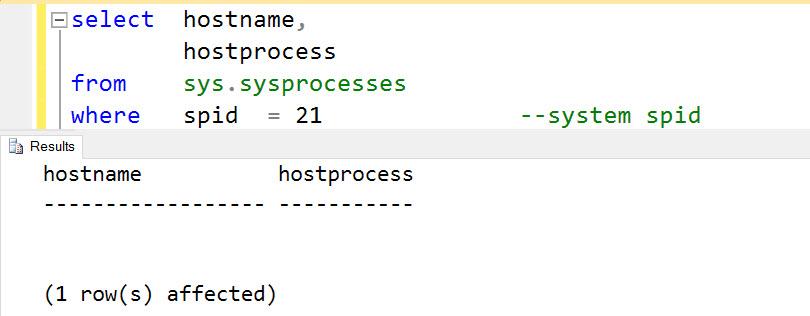 SQL SERVER - Process ID X was killed by hostname ABC, host process ID Y kill-02