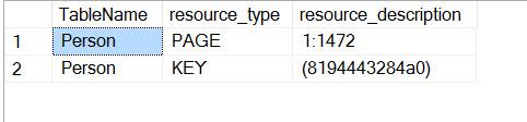 SQL SERVER - How to Identify Locked Table in SQL Server? lock