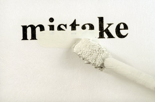 Hey DBA - Do You Study Mistakes? - Notes from the Field #097 mistake1