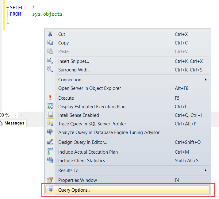 SQL SERVER - SSMS Query Command(s) completed successfully without ANY Results - Part 2 no-exec-03