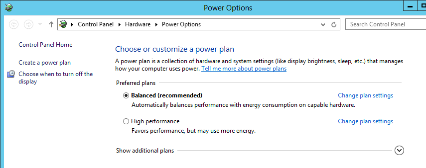 SQL SERVER - Are Power Options Slowing You Down? - Notes from the Field #095 notes-95