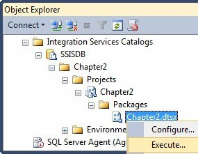 SQL SERVER - A Stored Procedure for Executing SSIS Packages in the SSIS Catalog - Notes from the Field #092 notes91-1