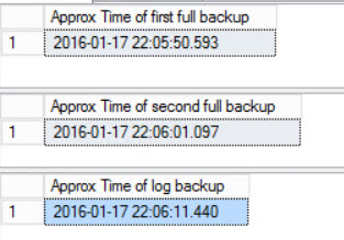 SQL SERVER - FIX: Msg 4335, Level 16, State 1 - The specified STOPAT time is too early restore-err-01