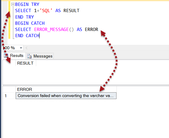 SQL SERVER - Scope of ERROR_MESSAGE scopeerror0