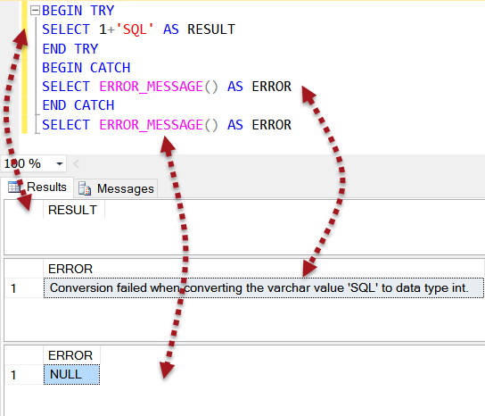 SQL SERVER - Scope of ERROR_MESSAGE scopeerror1