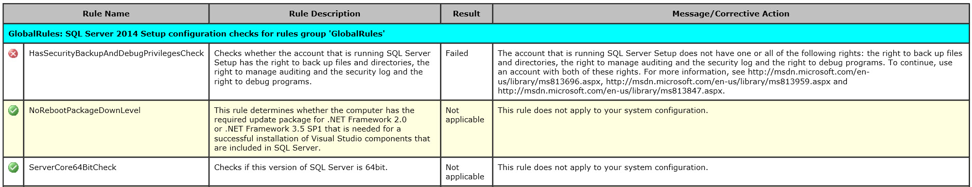 "Interview Question of the Week #056 - How to fix Installation Failure – Rule ""Setup account privileges"" Failed in SQL Server setup-rule-03"