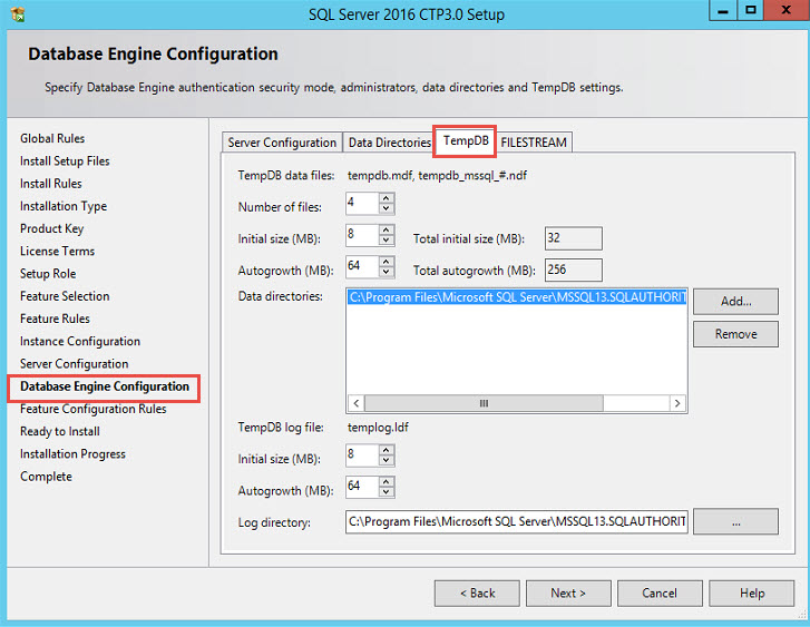 SQL SERVER - New features in SQL Server 2016 Setup Wizard sql2016-setup-02