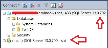SQL SERVER 2016 - IF EXISTS Function on SQL Azure Databases and More sqlazure-v12-2016-01