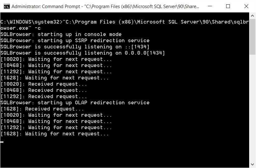 SQL SERVER - Unable to Start SQL Browser sqlbrowser-05