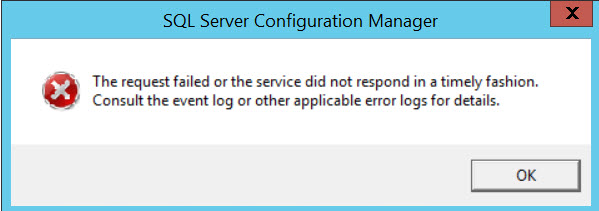 SQL SERVER - Unable to Start SQL Server - TDSSNIClient Initialization Failed with error 0xd start-error-01