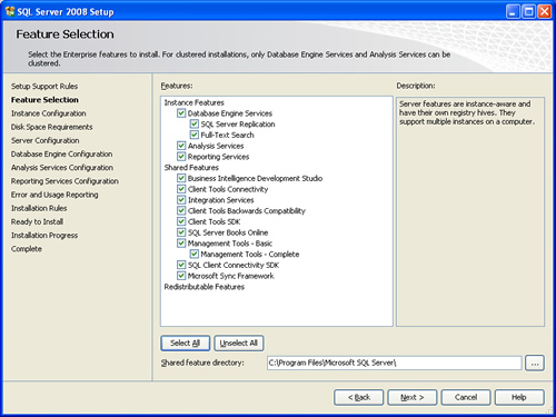 SQL SERVER - 2008 - Step By Step Installation Guide With Images 200811