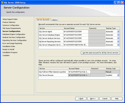 SQL SERVER - 2008 - Step By Step Installation Guide With Images 200814