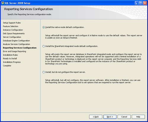 SQL SERVER - 2008 - Step By Step Installation Guide With Images 200817
