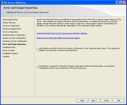 SQL SERVER - 2008 - Step By Step Installation Guide With Images 200818