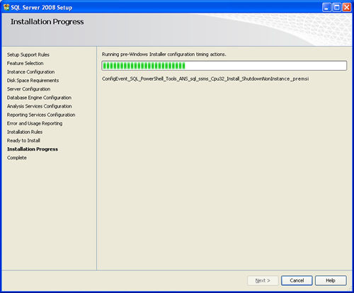SQL SERVER - 2008 - Step By Step Installation Guide With Images 200821