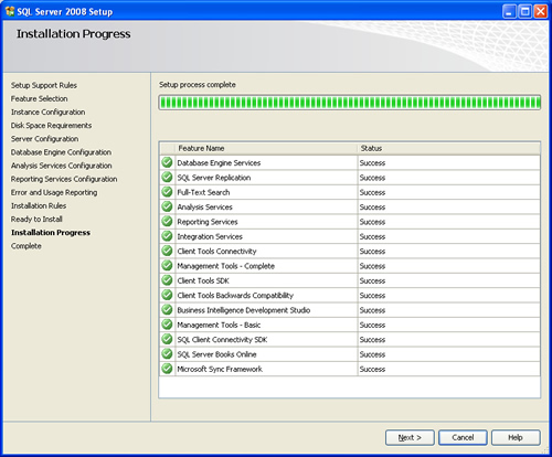 SQL SERVER - 2008 - Step By Step Installation Guide With Images 200823