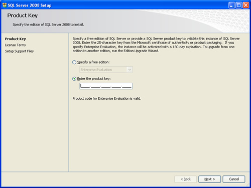 SQL SERVER - 2008 - Step By Step Installation Guide With Images 20087