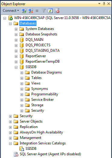 SQL SERVER - Creating the SSIS Catalog - Notes from the Field #058 58-4