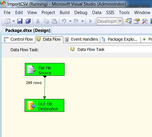 SQL SERVER - Import CSV File into Database Table Using SSIS import17