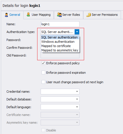 SQL SERVER - Beginning with SQL Server Security Aspects CreateLogin