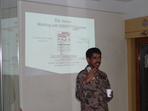 SQLAuthority News - Ahmedabad User Group Meeting February 21 2009 DSC03265