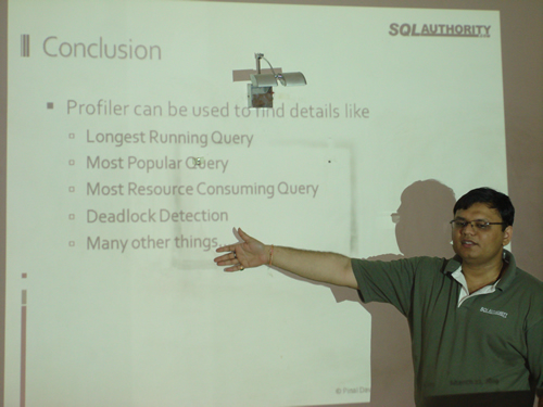 SQLAuthority News - Ahmedabad SQL Server User Group Meeting Review - March 21, 2009 DSC03801