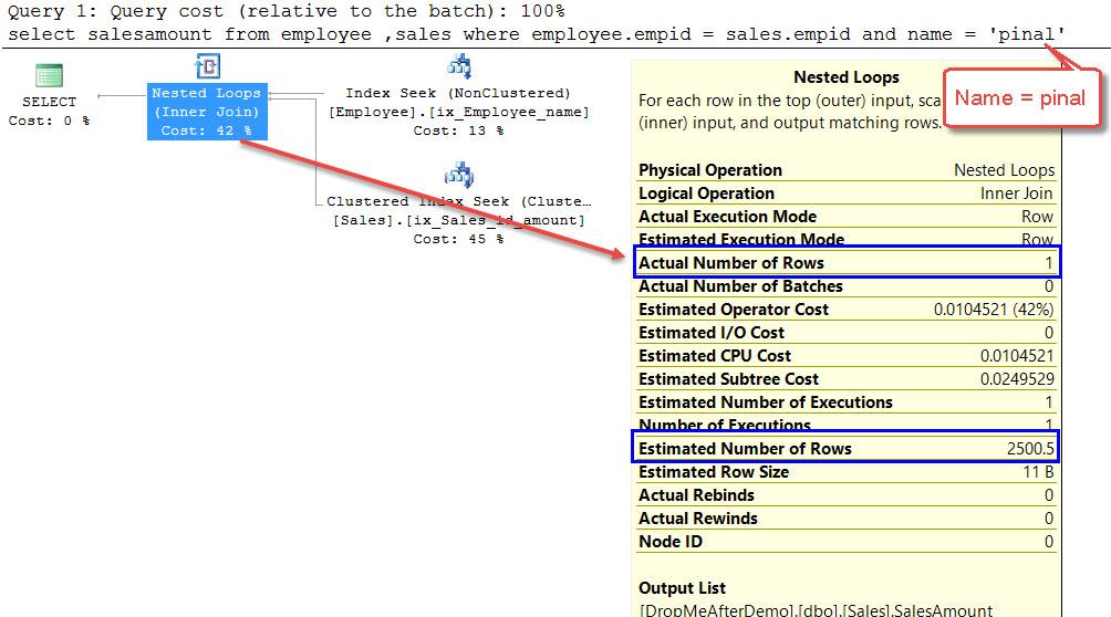 SQL SERVER - What is Filtered Statistics? FilterStats-01