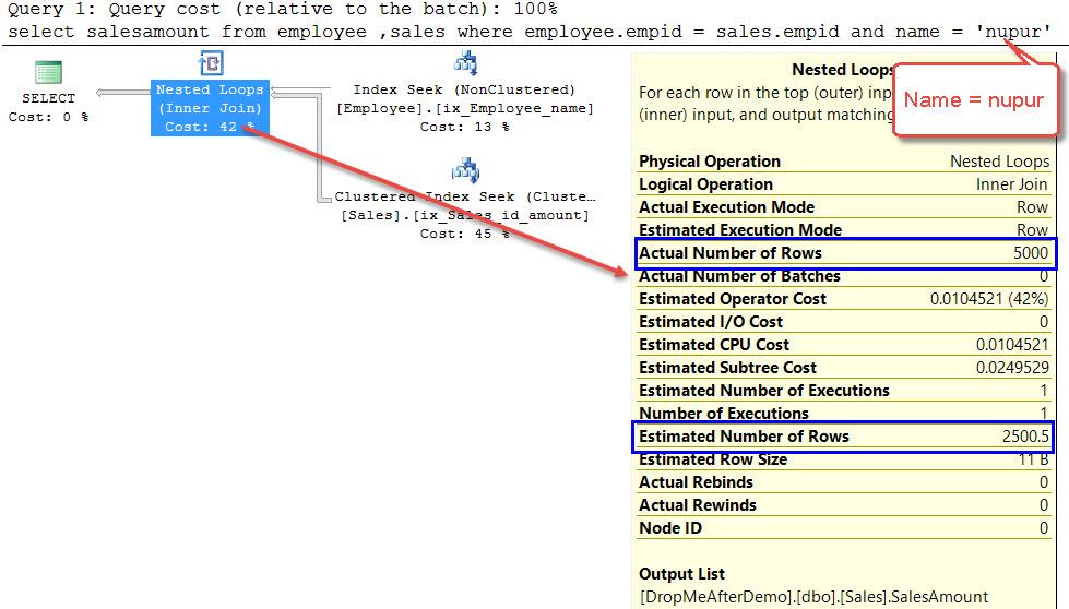SQL SERVER - What is Filtered Statistics? FilterStats-02