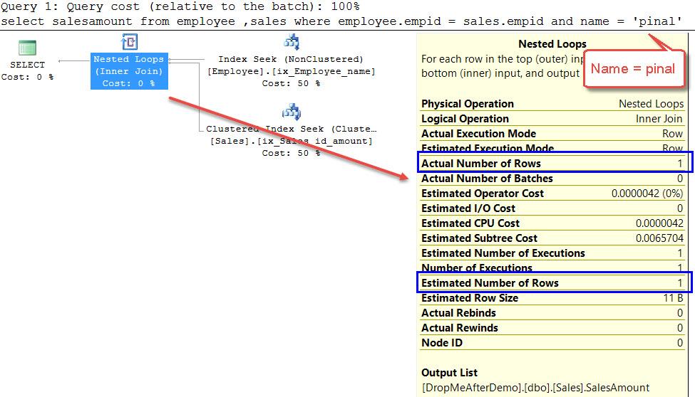 SQL SERVER - What is Filtered Statistics? FilterStats-03
