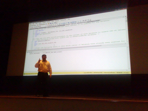 SQLAuthority News - TechDays Session at Infosys Mysore 2009 - Change Data Capture and PowerPivot infosys2