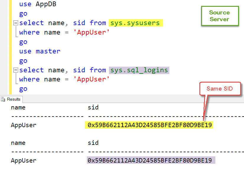 SQL SERVER – Create Login with SID – Way to Synchronize Logins on Secondary Server LoginWithSID-02