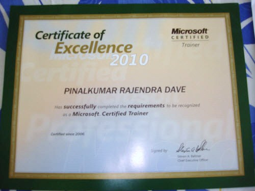 SQLAuthority News - I am Microsoft Certified Trainer (MCT)  MCT