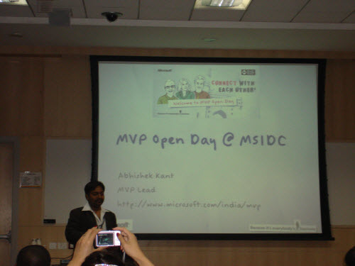 SQLAuthority News - MVP Open Day South Asia - Jan 20, 2010 - Jan 23, 2010 - Review Part Business MVPOpenDay2010_41