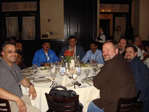 SQLAuthority News - MVP Summit 2009 - Day 2 - Most Contributing MVP of Year DSC03592