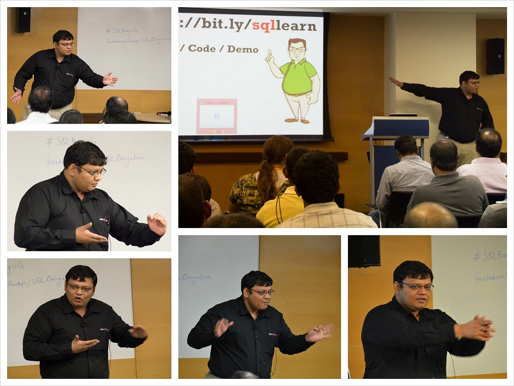 SQLAuthority News - Presented Soft Skill Session on Presentation Skills at SQL Bangalore on May 3, 2014 May3%20(4)