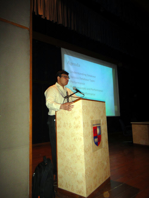 SQL SERVER - Visiting Alma Mater - Delivering Session on Database Performance and Career - Nirma Institute of Technology Nirma (12)