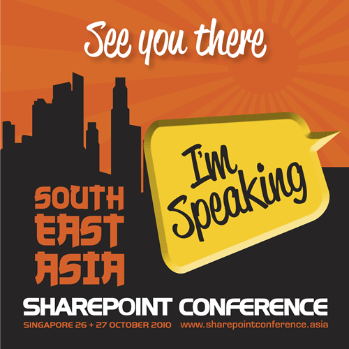 SQLAuthority News - Database Performance for SharePoint Sites - Session Tomorrow in Singapore SEASPC