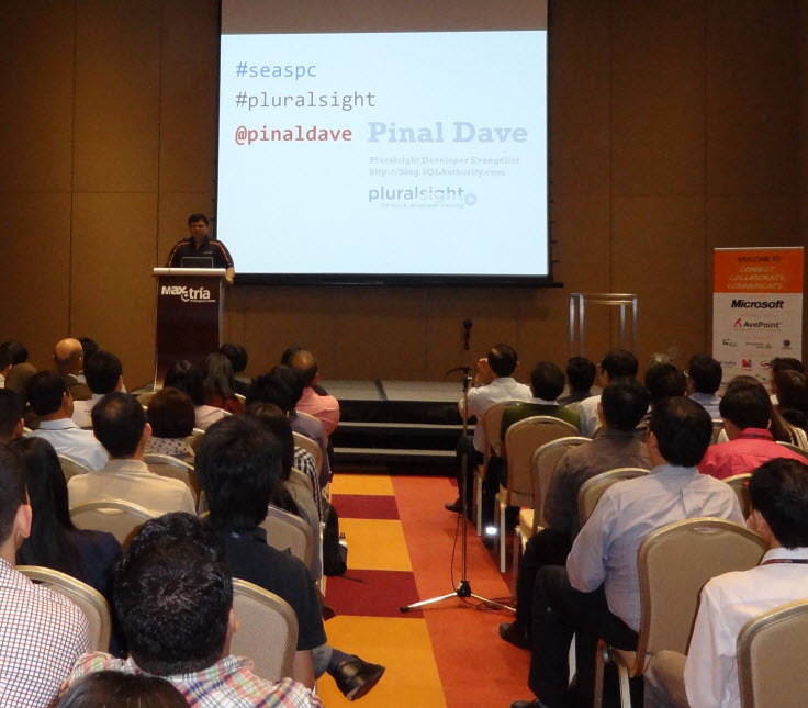 SQLAuthority News - Great Experience at SharePoint Conference Singapore 2013 SEASPC1