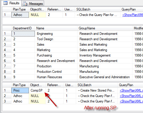 SQL SERVER - Stored Procedure are Compiled on First Run - SP taking Longer to Run First Time SPComp