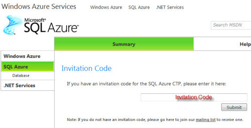 SQL SERVER - Azure Start Guide - Step by Step Installation Guide sqlazure2