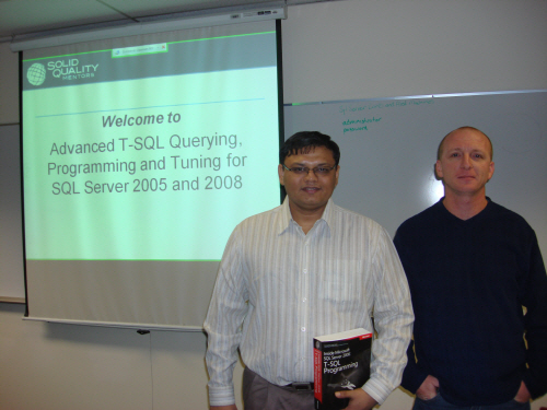 SQL Authority News - Advanced T-SQL with Itzik Ben-Gan - Solid Quality Mentors Itzik1