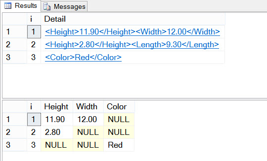 SQL SERVER - CREATE TABLE Failed Because Column 'C1024' in Table 'myTable' Exceeds the Maximum of 1024 Columns Sparse-01